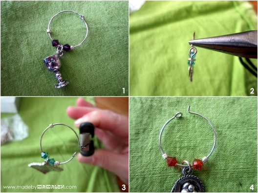 Jewish wine charm tutorial