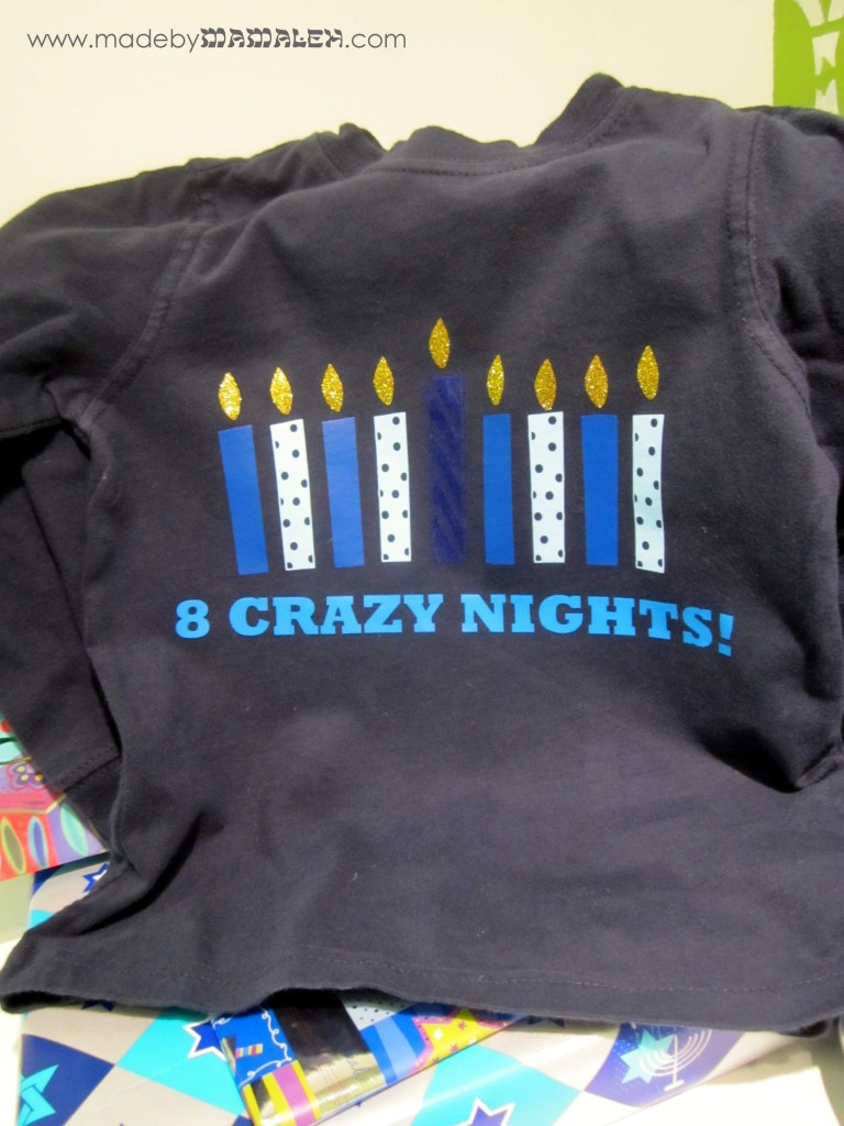 8 Crazy Nights t-shirt