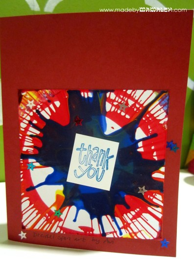 Hanukkah thank you note