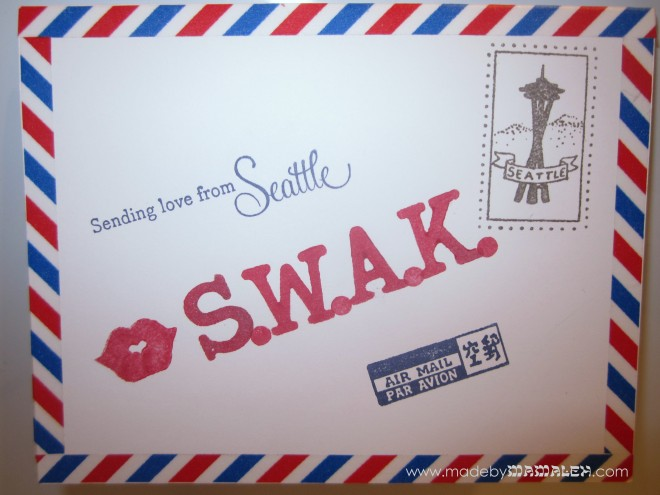 Air Mail Challenge Card