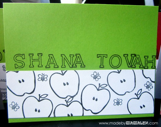 DIY Rosh Hashanah Cards