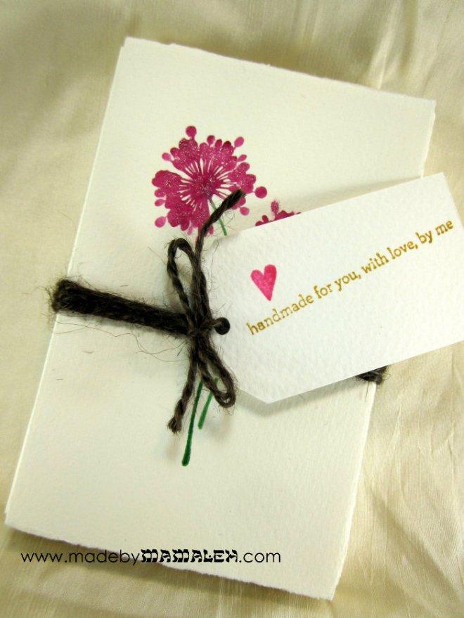 Card gift set madebymamaleh