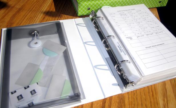 stamp organization binder madebymamaleh.com