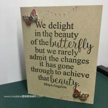 Butterfly card madebymamaleh.com