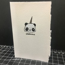 Pandacorn card madebymamaleh.com