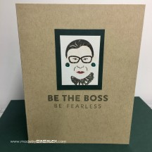 Be The Boss card by madebymamaleh.com