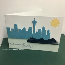 Sending Love from Seattle card madebymamaleh.com