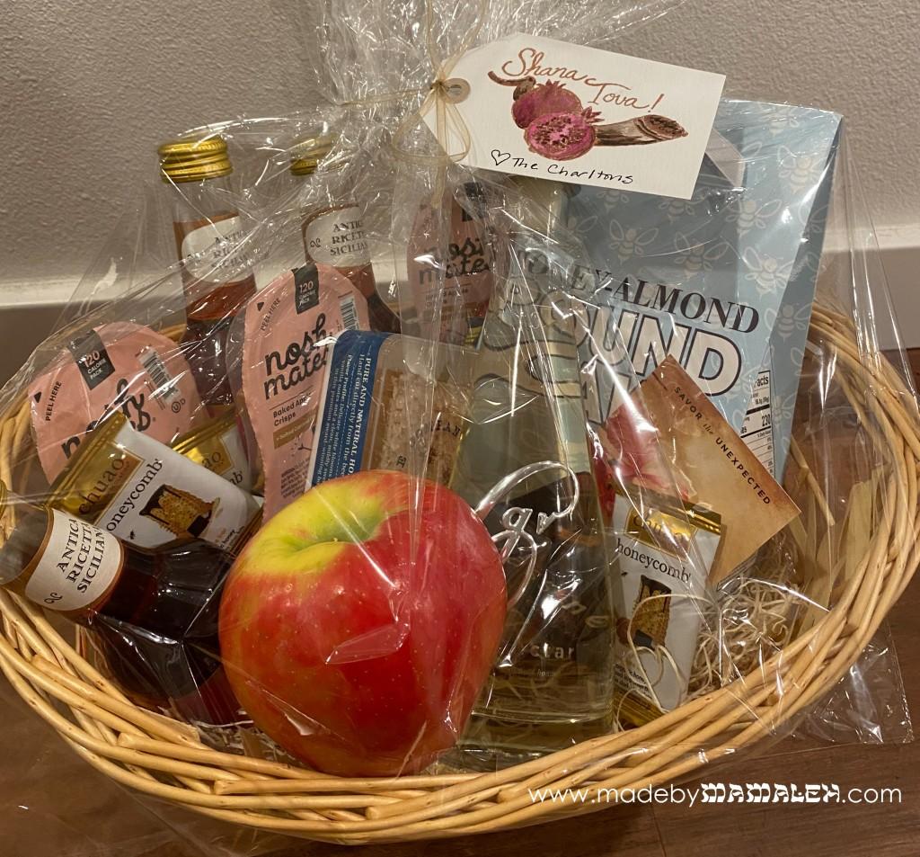 Rosh Hashanah Gift Basket madebymamaleh